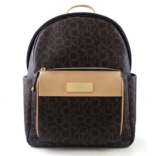 Calvin Klein 經典LOGO雙側置物後背包