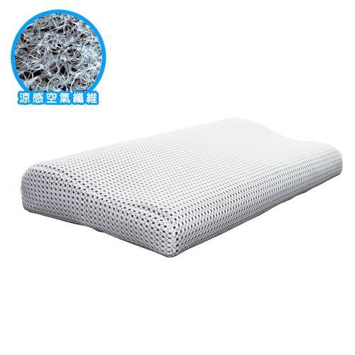 吉加吉 優麗斯 3D活氧 空氣枕頭 HQ-9101 (中枕/大枕 可選)