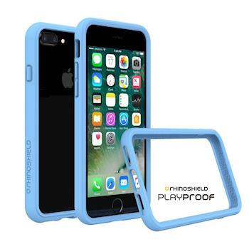 犀牛盾 Apple iPhone 7 Plus CrashGuard 2.0 防摔邊框-北卡藍