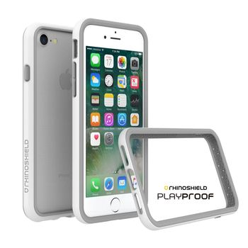 犀牛盾 Apple iPhone 7 CrashGuard 2.0 防摔邊框-白