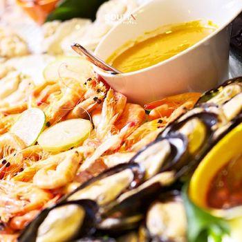 野柳泊逸渡假酒店 / 漁人廚房自助式吃到飽午餐或晚餐-4張