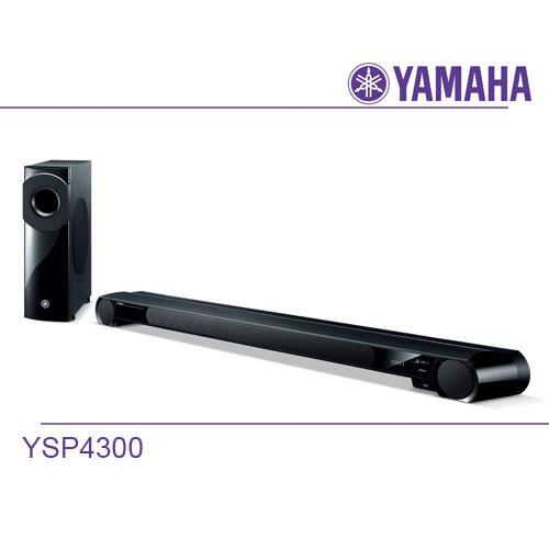 YAMAHA山葉 7.1聲道 數位串流單件式劇院 YSP-4300 -送飛利浦耳機