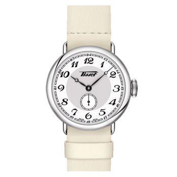 TISSOT 天梭 Heritage 1936 懷錶式機械腕錶-35mm T1042281601200