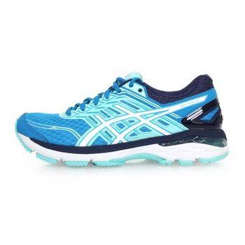 【ASICS】GT-2000 5 女慢跑鞋-路跑 訓練 亞瑟士 寶藍白