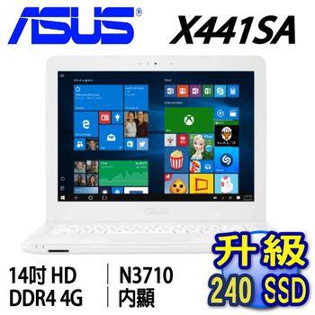 ASUS 華碩 X441SA 14吋  四核 N3710 獨顯2G SSD筆電