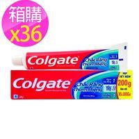 ~Colgate 高露潔~三效合一牙膏 ^#47 36入箱購 ^#40 200g ^#42