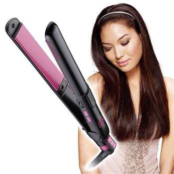 【買就送】VS沙宣25毫米電氣石陶瓷直髮夾VS2010PIW