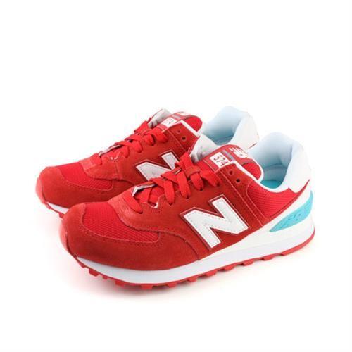 NEW BALANCE 574系列 復古鞋 女鞋 紅色(窄楦) no170