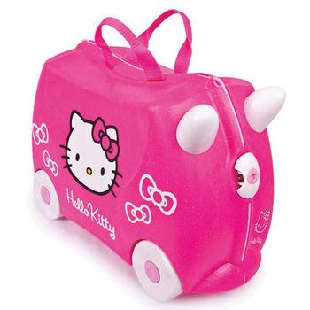 【英國trunki】可乘坐兒童行李箱Hello Kitty特別款