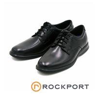 Rockport 馬拉松系列 DRESSPORTS 2 LITE素面紳士皮鞋~黑