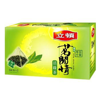 立頓 茗閒情活綠茶包 2.5Gx20入