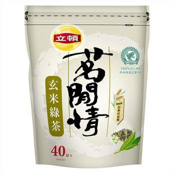 立頓 茗閒情玄米綠茶包 1.6Gx40入