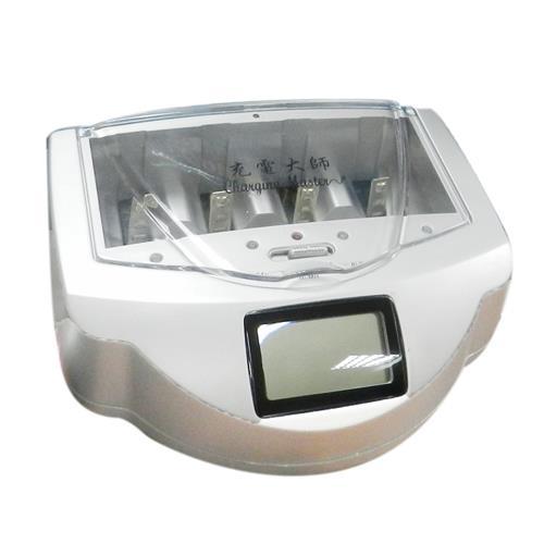 充電大師LCD液晶智慧環保多功能充電器GS-4338