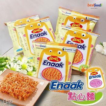 【黃粒紅】韓國ENAAK點心麵(16g/30包)/盒*6盒組