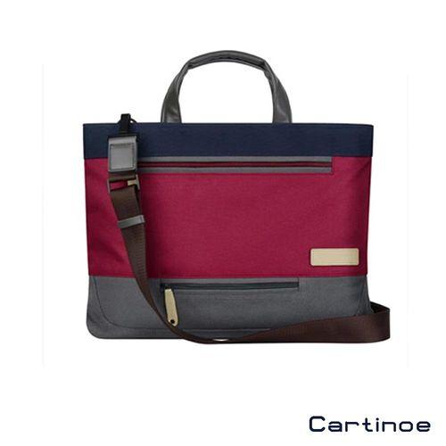 Cartinoe 13吋 學院風系列 時尚簡約 輕巧防震 手提包 電腦包 筆電包(CL133)