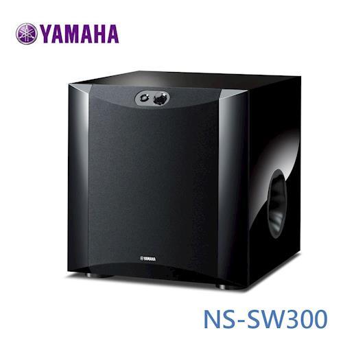 YAMAHA超重低音喇叭(木紋黑)NS-SW300