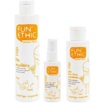 FUN ETHIC好嫩水蜜桃系列(保濕日霜+保濕卸妝水+保濕精華油)