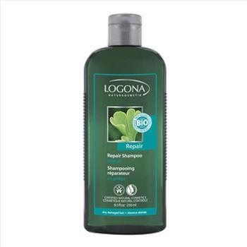 LOGONA諾格那 銀杏光澤強化修護洗髮精(乾燥無光澤髮質適用) 250ML