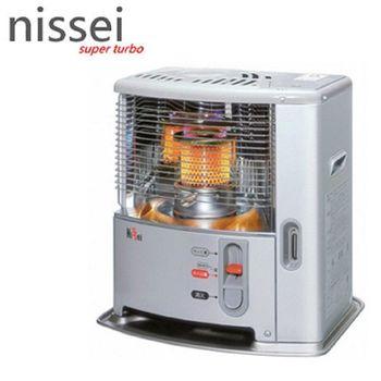 新春特促【日本原裝Nissei】3~5坪自然通風型經典煤油暖爐(NC-S246RD)