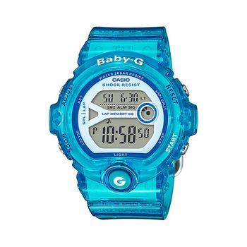 CASIO 卡西歐Baby-G 少女時代電子錶-果凍藍 / BG-6903-2B (台灣公司貨)