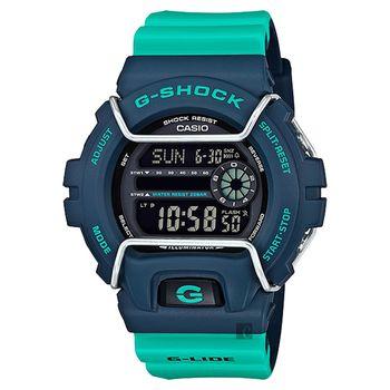CASIO 卡西歐 G-SHOCK 抗寒極限腕錶-綠 GLS-6900-2ADR
