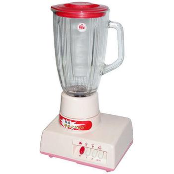 【全家福】1.8L玻璃杯果汁機 MX-818A