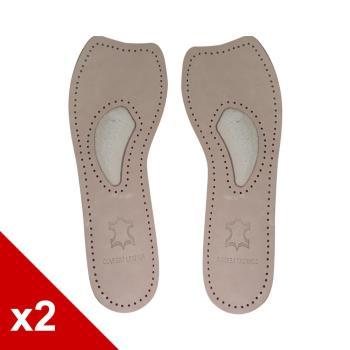 ○糊塗鞋匠○ 優質鞋材 C80 羊皮七分墊 (2雙/組)