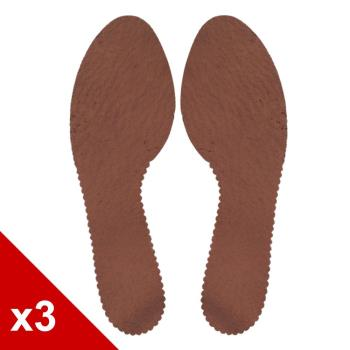○糊塗鞋匠○ 優質鞋材 C95 台灣製造 豚皮花邊涼鞋替換鞋墊  (3雙/組)