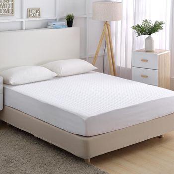 《HOYACASA極淨睡眠》特大全包覆式抗菌保潔墊