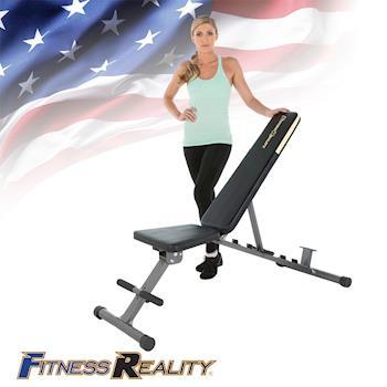 【Paradigm】FITNESS REALITY 360KG鐵人重量訓練椅/重訓床 F2804