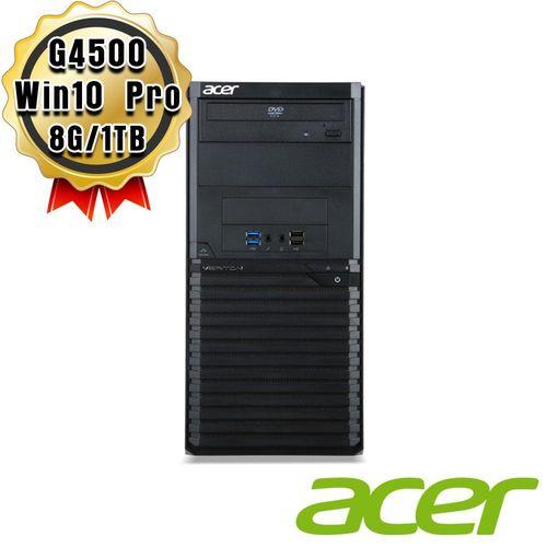 ACER 宏碁 Veriton M2640G G4500 雙核 1TB 桌上型電腦