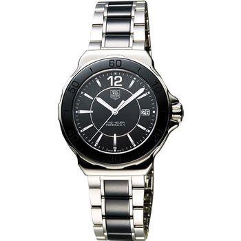 TAG HEUER 豪雅 Formula 1時尚陶瓷腕錶-黑/35mm WAH1210.BA0859
