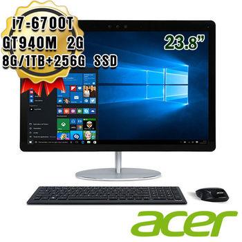 ACER 宏碁 U5-710 23.8吋 i7-6700T 四核 獨顯 GT940M 2G All in One 桌上型電腦