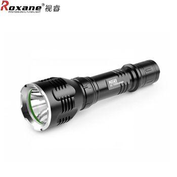 Roxance視睿美國Cree XML-T6強光手電筒LED手電筒IPx-6防水手電筒K68