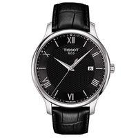 TISSOT 天梭 間約大三針羅馬紳士男用腕錶 #47 42mm #47 T0636101