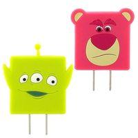 【Disney】 可愛 充電轉接插頭 USB轉接頭-三眼怪 熊抱哥