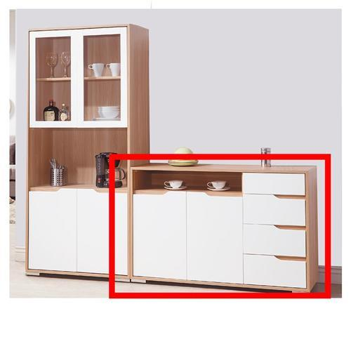 【A+俱】艾莎北歐4尺餐櫃