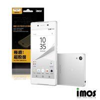 iMos~Touch Stream Sony Xperia Z5 抗污防反光霧面保護貼 背