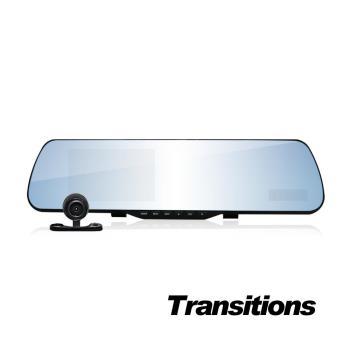 全視線 DA8000 GPS測速版 1080P 雙鏡頭後視鏡行車記錄器(送16G TF卡)