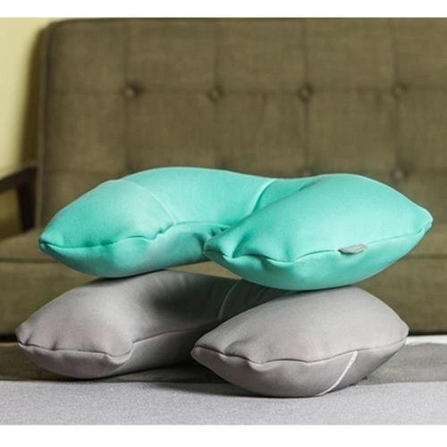 【旅遊首選、旅行用品】充氣式U型靠頸枕/午睡枕/飛機枕/護頸枕