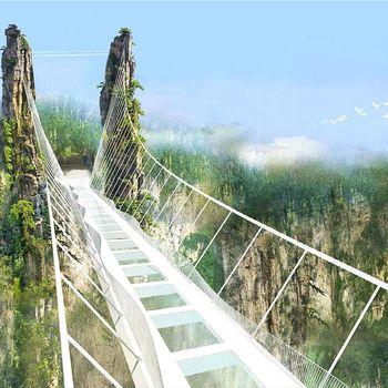 【無購物直飛張家界】張家界大峽谷玻璃橋+天子天門雙山五日