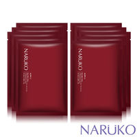 NARUKO牛爾~任2件55折起~紅薏仁毛孔亮白緊緻面膜10入
