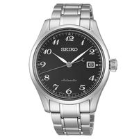 SEIKO Presage 6R15領導者機械錶 ^#45 黑 ^#47 40.5mm 6