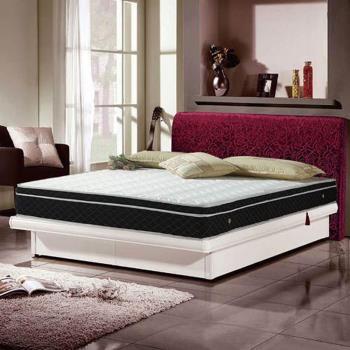《新之森林》晨曦抗菌防蹣式備長碳三線獨立筒床墊-雙人加大6x6.2尺