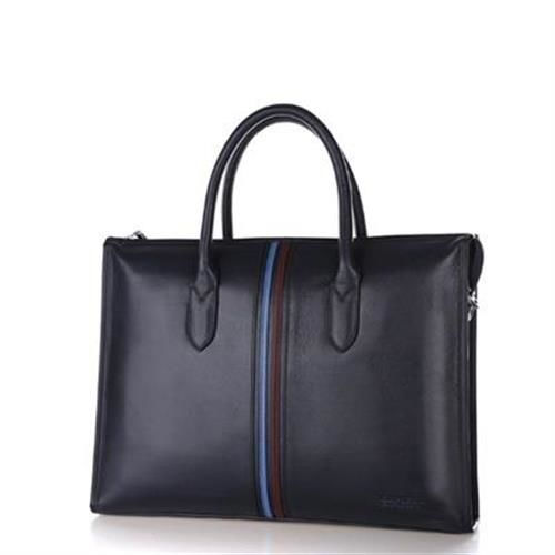 【米蘭精品】公事包真皮手提包歐美時尚質感都會3款73io4