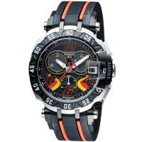 TISSOT 天梭 T~RACE STEFAN BRADL 賽車手 計時腕錶 T09241