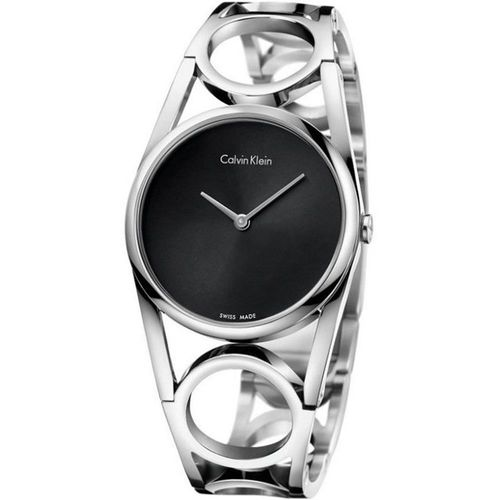 Calvin Klein K5U round 系列 經典手環錶款  K5U2S141 (size  S)