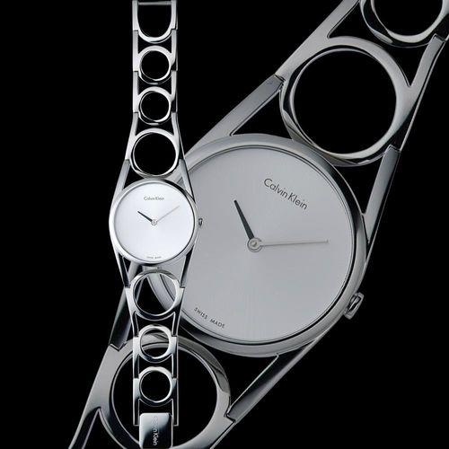Calvin Klein K5U round 系列 經典手環錶款  K5U2S146 (size  S)