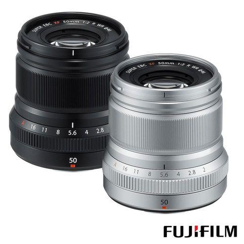 FUJIFILM 富士 XF 50mm F2 R WR 人像鏡 (公司貨)