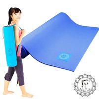【Fun Sport】PER環保瑜珈墊-莓果藍 送束帶 布蕾歐背袋